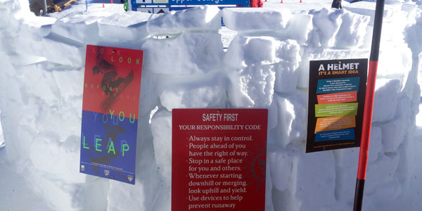 Promoting Safety on the mountain