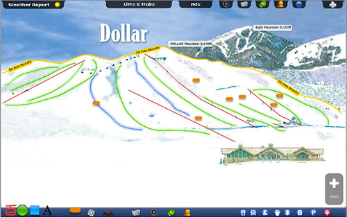 Dollar Winter Summer Trail Map
