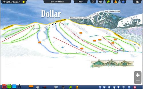 Dollar Winter Summer Trail Map