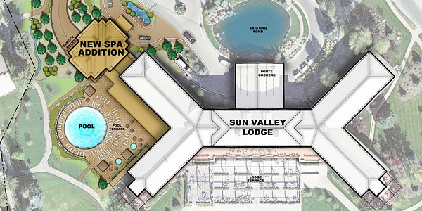 Spa Addition - Conceptual Site Plan