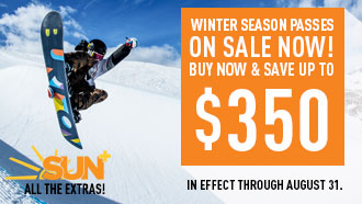 Winter Passes On Sale Now!