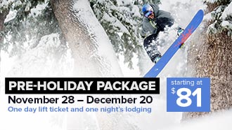 Pre-Holiday Package